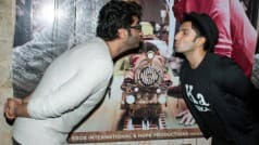 Arjun Kapoor and Ranveer Singh tried to kissed