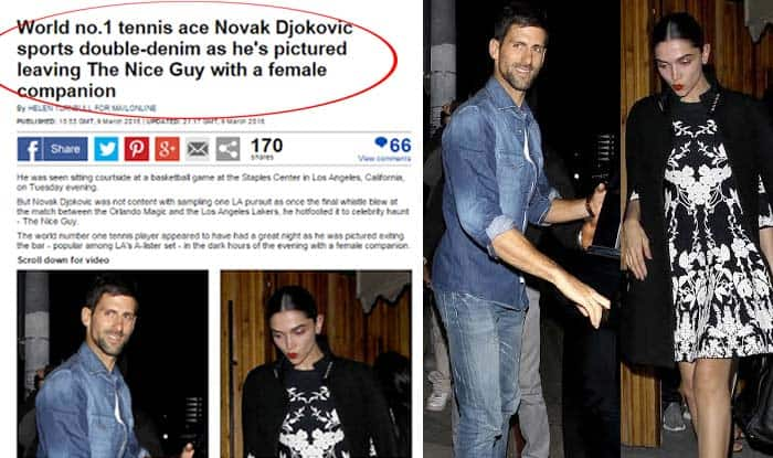Image result for deepika padukone and Novak Djokovic