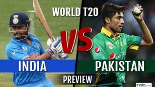 India vs Pakistan ICC T20 World Cup 2016 Preview: Wounded India favourites to extend record against Pakistan