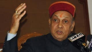 Himachal Pradesh Assembly Polls 2017: BJP Announces Prem Kumar Dhumal as Chief Ministerial Candidate
