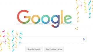 Holi festival 2016 Google Doodle: Google hompage brightens up with colour-splattered logo to celebrate festival of colours
