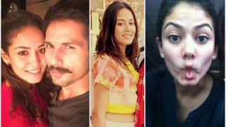 Sans Shahid Kapoor, wife Mira Rajput is talkative & bubbly with her girlfriends! Watch video