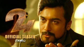 Suriya 24 trailer: Suriya, Nithya Menen & Samantha Ruth Prabhu starrer science fiction thriller is awe-inspiring! Watch video