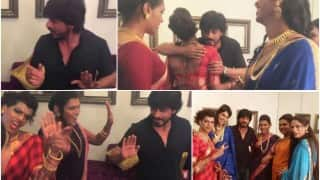Shah Rukh Khan makes India's first transgender band 6-Pack Band his Jabra Fan! Watch video