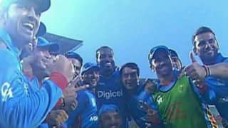 ICC T20 World Cup 2016: Look who Chris Gayle just celebrated with!