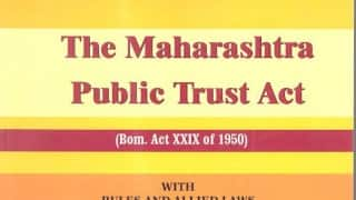 Maha Assembly passes amendment to Public Trusts Act