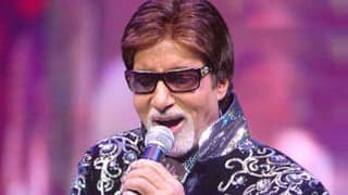 Amitabh Bachchan to sing national anthem before India-Pakistan Eden clash