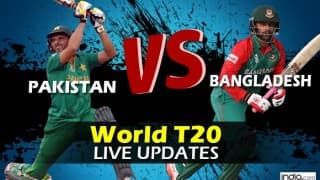 PAK won by 55 runs | Pakistan vs Bangladesh, Live Cricket Score Updates of ICC T20 World Cup 2016, BAN 146/6 (Target 202) in 20 Overs