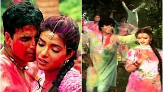 From Rang Barse to Do Me A Favor Let's Play Holi: Listen to colourful non-stop Holi songs!