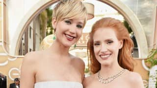 Jessica Chastain slams invented feud with Jennifer Lawrence