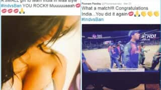 Poonam Pandey strips on Twitter! Posts nude selfie as India defeats Bangladesh in ICC World Cup T20 2016