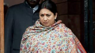 Privilege motion moved against Smriti Irani: Will HRD Minister apologise for misleading Parliament?