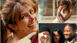 Priyanka Chopra misses Holi 2016 in India, celebrates festival of colours with Quantico team!