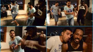 Virat Kohli vs Chris Gayle: Who pulls off Michael Jackson's iconic Moonwalk? Watch video