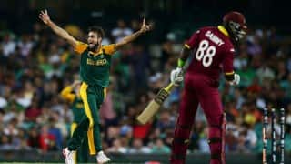 WI beat SA by three wickets, WI 123/7 IN 19.4 Overs | South Africa vs West Indies Cricket Live Score updates, Nagpur
