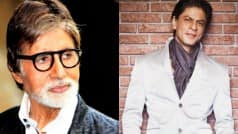 Amitabh Bachchan mentions Shah Rukh Khan in latest tweet and it's quite sweet!