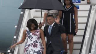 It's wonderful, says Barack Obama during historic visit to Cuba