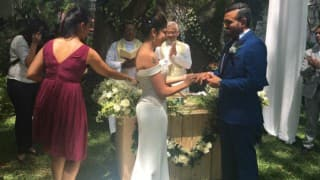 Robin Uthappa marries Sheethal Goutham: See pics of Indian cricketer and tennis star's wedding