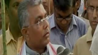People chanting Pakistan-Zindabad slogans have no place in India: Dilip Ghosh