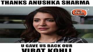 Anushka Sharma becomes a target to trolls yet again! This time because Virat Kohli performed!