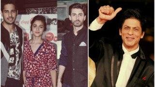 Shah Rukh Khan is all praises for Kapoor & Sons stars Alia Bhatt, Sidharth Malhora & Fawad Khan