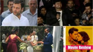 India.com Morning News Bulletin: Rahul Gandhi to visit Assam, Kanhaiya Kumar walks out of jail, Urmila Matondkar, Robin Uthappa get married