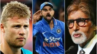 ICC World T20 2016: Amitabh Bachchan gives hard-hitting reply to Andrew Flintoff for taking dig at Virat Kohli