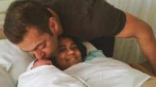 Salman Khan's picture with sister Arpita Khan Sharma and nephew Ahil is adorable!