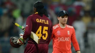 Chris Gayle's skill level was quite up, says Eoin Morgan