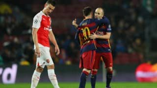 Champions League: Barcelona outgun Arsenal to reach quarter-finals