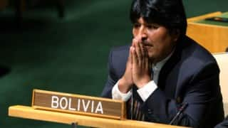 Bolivia to take Chile to court over water dispute, says President Evo Morales
