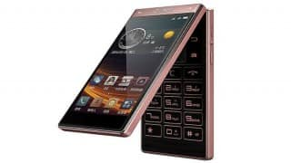 Premium android smart flip phone Gionee W909 unveiled