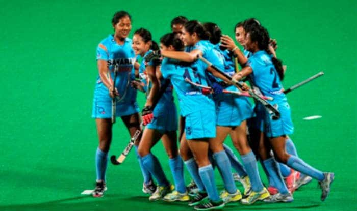 File picture of India women hockey team.