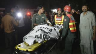 Death toll in Lahore suicide attack rises to 72