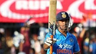 धौनी ने टी-20 मैचों में पूरे किए 1000 रन