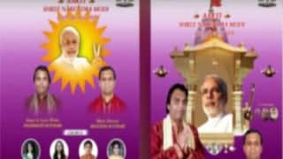 'Om Jai Narendra Modi': Bhakt sings Aarti composed in praise of the PM! (Watch Video)