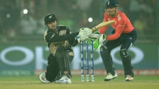 New Zealand restricted to 153/8 by resurgent England in ICC World T20 World Cup 1st Semi final