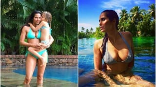 Padma Lakshmi Shares a Throwback Picture on Social Media of Her Breastfeeding While Multitasking