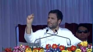 Rahul Gandhi blames RSS ideology for atrocities against Dalits