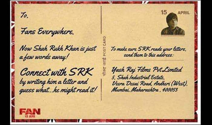 Shah rukh khan invites fans to write letter to him heres the srk invites fans to write letter to him shah rukh khan expocarfo