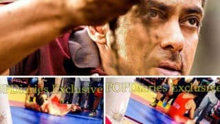 Salman Khan gets beaten up! See Sultan leaked pictures!