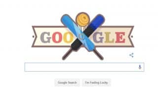 Google Doodle marks India vs New Zealand ICC World Cup T20 match!