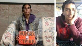 Sister on Hunger Strike Protests Lax Treatment of Brother's Alleged Killer