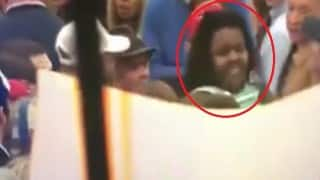 Black woman heckled, thrown out of Donald Trump rally (Watch video)