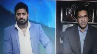 ICC World T20: Wasim Akram heckled on live TV while talking about Virat Kohli (Watch video)