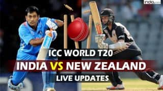NZ beat IND by 47 runs | India vs New Zealand, Live Cricket Score Updates of ICC T20 World Cup 2016, IND vs NZ