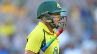 Aaron Finch urges Australia to tone down bravado while facing spinners