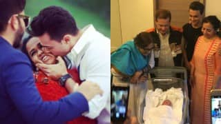 Arpita Khan Sharma & Aayush Sharma's son will be called Ahil; See first picture of the baby!