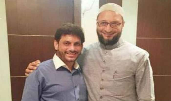 Image result for waris pathan owaisi