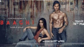 Baaghi: Rebels in Love poster: Tiger Shroff, Shraddha Kapoor don intense, rebellious look